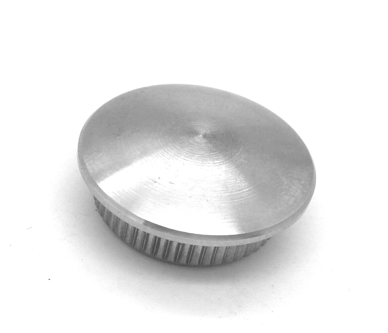 Endkappe leicht gew/ölbt zum Einschlagen hohl f/ür Rohr /ø 48,3 x 2,0mm